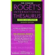 Roget's Concise International Thesaurus by Barbara Ann Kipfer