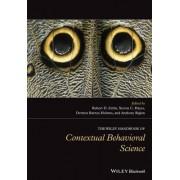The Wiley Handbook of Contextual Behavioral Science by Robert D. Zettle