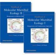 Handbook of Molecular Microbial Ecology by Frans J. de Bruijn