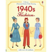 Historical Sticker Dolly Dressing 1940s Fashion by Rosie Hore
