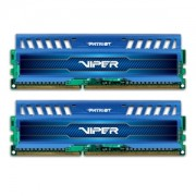 Memorie Patriot Viper 3 Sapphire Blue 16GB (2x8GB) DDR3 1600MHz 1.5V CL9 Dual Channel Kit, PV316G160C9KBL