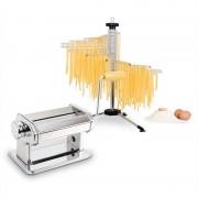 Klarstein Pasta Set Siena Pasta Maker Edelstahl & Verona Pasta Trockner
