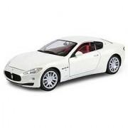 Maserati Gran Turismo White 1/18 by Motormax 79151
