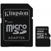 Cartão de Memória MicroSDHC Kingston - 32GB