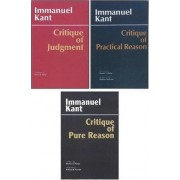 Three Critiques: Critique of Pure Reason Volume 1 by Immanuel Kant