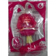 McDonalds 2010 Strawberry Shortcake Scented Doll Raspberry Torte with Fashion Stickers #6