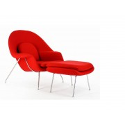 Fauteuil Womb - Rouge