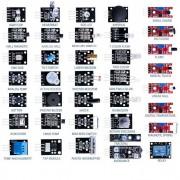 37 - en-1 kit de sensor de Arduino modulo + 60PCS resistencias de aprendizaje