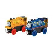 Fisher-Price Thomas & Friends Wooden Railway - Vehículo de juguete Thomas y sus amigos (Mattel BDG18)