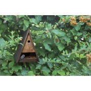 Futter- und Vogelhaus Wigwam - das perfekte Kombi-Haus für Vögel