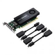 VC, PNY Quadro Kepler K1200, 4GB GDDR3, 128bit, Low Profile, PCI-E 2.0 (VCQK1200DP-PB)