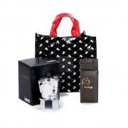 Set espresso moka Shopping Bag Bialetti 3 piese