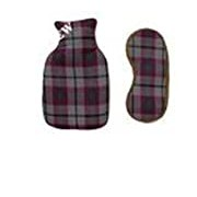 Matfield Lavender Gifts Hot Water Bottle and Eye Mask Gift Set