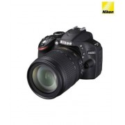 Nikon D3200 24.2MP Digital SLR Camera (Black) with 18-105mm VR II Kit Lens, 8GB Card and Camera Bag