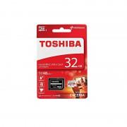 Card Toshiba MicroSDHC 32GB Clasa 10 cu adaptor SD