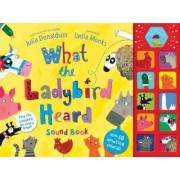 What the Ladybird Heard Sound Book by Julia Donaldson