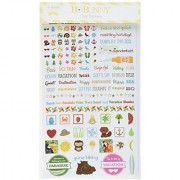 Bo Bunny Essentials Stickers-Summer Fun Multi