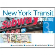Universal Map New York Transit PopOut Map (Set of 3) 18045
