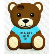 Apple iPhone 6 Plus (силиконов калъф) 'Teddy Bear'