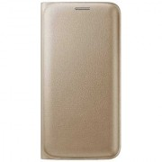Limited Edition Golden Leather Flip Cover for Lava A67