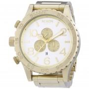 Nixon 51-30 Chrono Watch - Champagne Goldsilver One Size