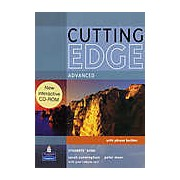 Cutting Edge Advanced Student's Book with Phrase Builder and Interactive CD-ROM
