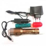 Lanterna LED Cree 3W Small Sun ZYR818 cu Conuri Semnalizare