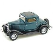 Kinsmart 1932 Ford 3-Window Coupe (Green Black)