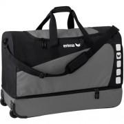 erima Sporttasche Trolley 5-CUBES (mit Bodenfach) - granit/schwarz | X