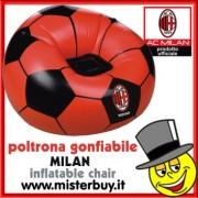 POLTRONA GONFIABILE MILAN prodotto ufficiale