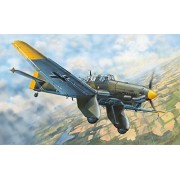 Trumpeter 03213 - Modellino di aeroplano Junkers Ju 87A Stuka, scala 1:32