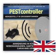 Pest controller aparat cu ultrasunete pentru alungarea șoarecilor pentru suprafață de 92 m.p. – alimentare cu baterie de 9V