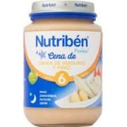 NUTRIBEN CENA CREMA VERDURA/PAVO 200GR