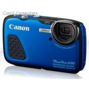 PowerShot D30 12.1MegaPixel Blue Waterproof Digital Camera