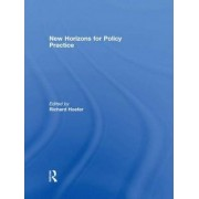 New Horizons for Policy Practice by Richard Hoefer