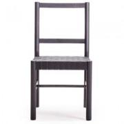 Milo A12 stol, svart/svart