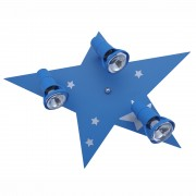 Plafonjera u plavoj boji