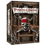Piratii din Caraibe - Colectia de patru filme (4DVD)