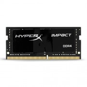 Kingston HX421S13IB/8 8Gb DDR 4 Pc 2133 Hyperx Impact Scheda di Memoria, Nero
