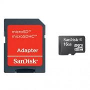 Card Sandisk microSDHC 16GB Class 2