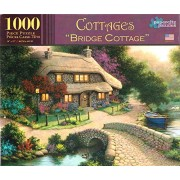 "Papercity Puzzles COTTAGES ""BRIDGE COTTAGE'' 1000 Piece Puzzle"