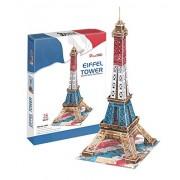 Cubic Fun C044T - 3D Puzzle La Torre Eiffel Special Edition