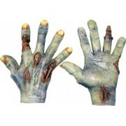 Luvas morto-vivo adulto Halloween