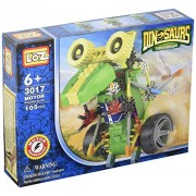 [ Motorial Dinosaur Robot ] Loz Robotic Building Set Block Toy ,Battery Motor Operated,3 D Puzzle Design Alien Primate Robot Figure For Kids And Adults , Sturdy Enough , 105 Parts(Dinosaur)