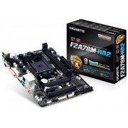 Gigabyte Ga-F2A78M-HD2 Socket FM2+ Vga Dvi Hdmi 7.1 Channel Audio mATX