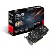 Asus Radeon R7265-DC2-2GD5 Scheda Video, Nero