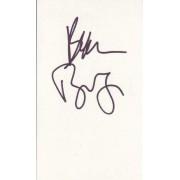 Beau Bridges Autographed 3x5 Index Card