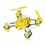 Hubsan NANO Q4 H111 4-CH Télécommande Mini Toy Aircraft Quadcopter w / Main Lancement - jaune + blanc