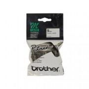 BROTHER - NASTRO TIPO M 9MM NERO/BIANCO . . - MK221BZ