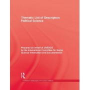 Thematic List of Descriptors: Political Science by International Committee for Social Science Information and Documentation